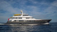 The Newly Refit 'Scout' Motor Yacht by RMK Marine Hits the Market for $19.5M