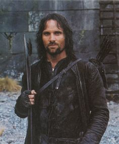Aragorn - [original pinner - were I not wed, I would take him in a womanly way.] Luv it!