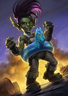 Let's share our favorite Warcraft fan-art!