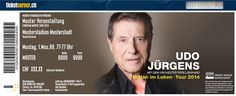 udo jürgens mitten im leben tournee zürich tickets so 07 12 14 19 00 ...