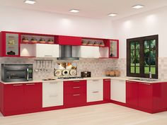 Buy Savate L - Shaped Kitchen with Laminate Finish online in Bangalore. Shop now for modern & contemporary kitchen designs online. Rs.129,150 COD & EMI available.