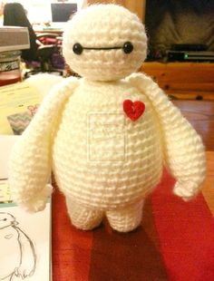 Baymax Big Hero 6 Amigurumi Crochet Doll 2 by Spudsstitches on DeviantArt