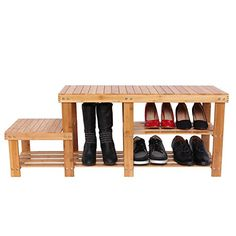 Songmics 100% Natural Bamboo Shoe Bench Shoe Boot Storage Racks Organizer with High and Low Levels for Adult and Child ULBS120N  http://www.furnituressale.com/songmics-100-natural-bamboo-shoe-bench-shoe-boot-storage-racks-organizer-with-high-and-low-levels-for-adult-and-child-ulbs120n/