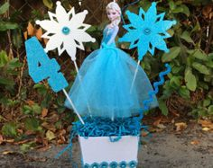 Olaf Disney Frozen Birthday CenterPiece by FantastikCreations
