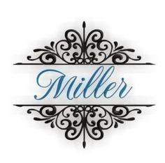 Miller Font Frame for Machine Embroidery Monogram Fonts - 3 sizes ff023. $2.99, via Etsy.