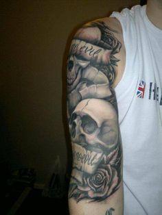 hear no evil see no evil speak no evil tattoo… See No Evil, Stay Calm, Wallpaper Pictures, Skeleton, Skulls, Cool Tattoos, Tatting, Piercings, Tattoo Ideas