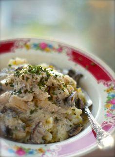 Plan to Eat - healthy crockpot chicken stroganoff - suederaven