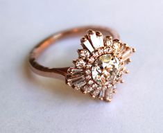 The most amazing vintage style rings! Www.heidigibson.com