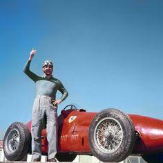 Alberto Ascari Ferrari Racing La Ferrari F Racing Rennsport Formula One