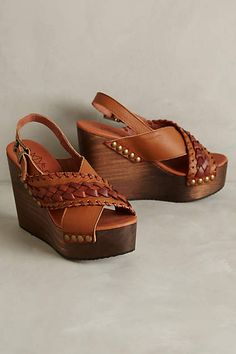 67 Collection Beky Platform Wedges - anthropologie.com
