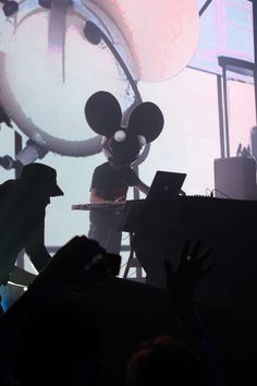Deadmau5 at House of Blues Sunset Strip, take 2! #Music #Live #HOBSunset #Deadmau5