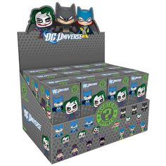 Funko DC Comics: PDQ Mystery Mini Figure Display, 24-Piece http://popvinyl.net #funko #funkopop #popvinyl