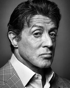 Michael Sylvester Gardenzio Stallone (born July is an American actor, screenwriter and filmmaker. Legendary for his Hollywood action roles, including as boxer Rocky Balboa, the title character of the Rocky series' seven films from 1976 Sylvester Stallone, Rocky Balboa, The Expendables, Annie Leibovitz, Face Expressions, Celebrity Portraits, Black And White Portraits, Hollywood Actor, Photo Reference