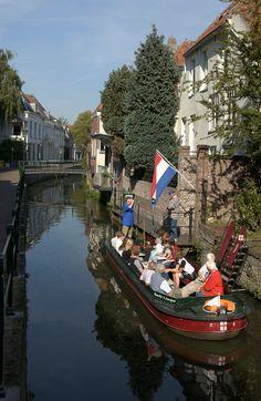 Rondvaart, Amersfoort, Utrecht. Dutch People, Summer Street, Water Tower, Utrecht, Days Out, Tanzania, Trip Planning, Laos, Netherlands