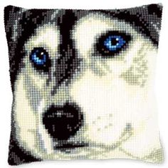 WOLF FACES PILLOW