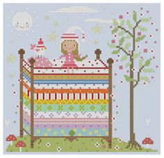 SurLaLune Fairy Tales Blog: Fairy Tales in Stitches: Fairy Tales Collections from The Floss Box