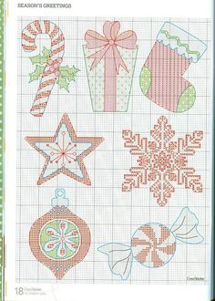 Christmas #Noel #cross-stitch