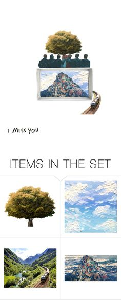 """""""i miss you"""" by dinoburger ❤ liked on Polyvore featuring art"""