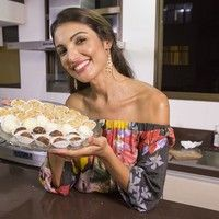 Patrícia Poeta prepara duas receitas de brigadeiro 'low carb'. Aprenda!