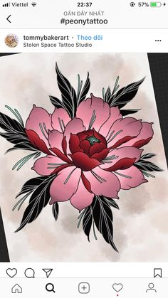 Rose Tattoos, Flower Tattoos, Small Tattoos, Japanese Flower Tattoo, Japanese Flowers, Floral Tattoo Design, Tattoo Designs, Drawing Sketches, Pencil Drawings