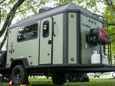The new ADAK Adventure Trailer features a cassette blackwater system was installed in the trailer to make for easy and mess free dumping. Cargo Trailer Camper, Diy Camper Trailer Designs, Cargo Trailer Conversion, Off Road Trailer, Utility Trailer, Camper Conversion, Cargo Trailers, Truck Camper, Diy Camp Trailer