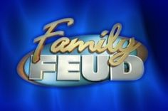 You've certainly seen the program. In the US its called Family Feud, in the UK its Family Fortunes, but the format is the same. Two families play...