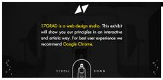 17GRAD web and graphic design agency website #designagencies #webdesign #websitedesign  #designstudio #creativedesign