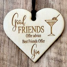 Wooden Hearts Crafts, Heart Crafts, 3d Laser Cutter, Gifts For Friends, Best Friends, Greyhound Art, Wooden Plaques, Engraved Gifts, Pyrography