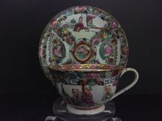 CHINESE MANDARIM TEACUP Made in Macau