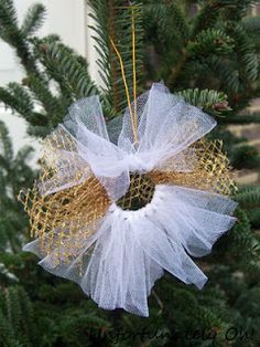 Tutu Christmas ornament