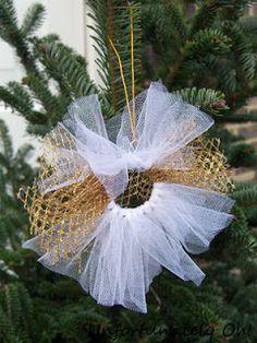 Tutu Christmas ornament