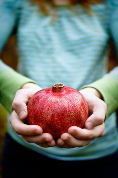 Held...Pomegranate