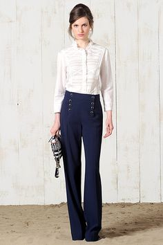 Love me some sailor pants