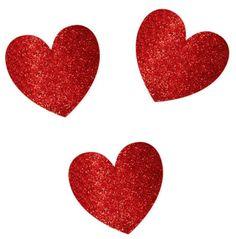 Decoración de mesa corazones San Valentín