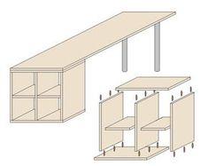 die 17 besten bilder von n htisch selber bauen. Black Bedroom Furniture Sets. Home Design Ideas