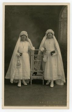 First communion fairies 1920s original vintage by GRAINSofBrussels
