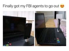 Finally got my FBI agents to go out