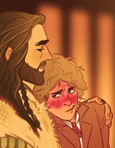 The Hobbit - Thorin Oakenshield x Bilbo Baggins - Thilbo Bagginshield