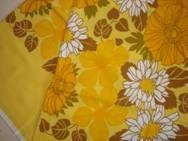 Retro table cloth - 1970s. Cotton. 84 x 93 cm. #retro #dug #1970s #cotton. SOLGT.