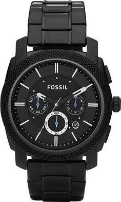 Fossil Men's FS4552 Machine Chronograph Stainless Steel Watch - Black Fossil http://www.amazon.com/dp/B003R7JYBY/ref=cm_sw_r_pi_dp_pv1Nub087KNXT