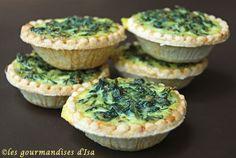 Cheese & Watercress tarts - to get Mum to eat watercress