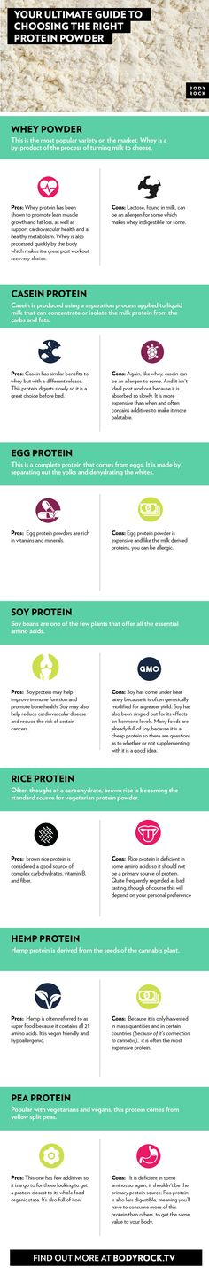Here is your ultimate guide to protein! Don't make uneducated guesses when it comes to your fitness goals. Get the facts and take you workout to the max!