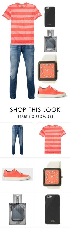 """""""Untitled #2752"""" by sarah-michelle-steed ❤ liked on Polyvore featuring Levi's, American Rag Cie, Paul Smith, Kenneth Cole Reaction, Burberry and Native Union"""