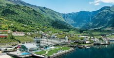 Originally a boat house dating to 1846, the iconic hotel was expanded over the years to 170 rooms. Boat House, Over The Years, Norway, Dating, Rooms, Places, Bedrooms, Quotes, Lugares