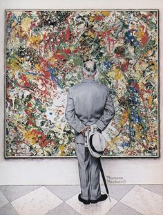 THE CONNOISSEUR - NORMAN ROCKWELL, 1962