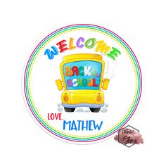 Items similar to Custom Welcome Back to School Printable Labels-Tags- Back to school Stickers - Personalized Scallop Tags-YOU PRINT on Etsy Printable Labels, Printables, Sticker Paper, Stickers, Welcome Back To School, Circle Punch, School Themes, I Shop, Etsy Seller