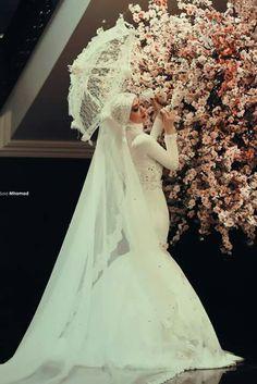 Hijab fish :P  wedding dress