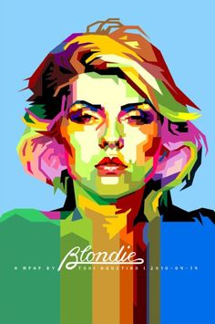 Blondie (Wedha's Pop Art Portrait) by Toni Agustian