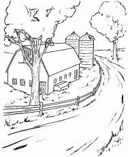 Farm coloring pages 30 free