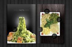 дизайн меню New Menu, Prezzo, Menu Design, Menu Restaurant, Food Menu, Fine Dining, Pasta, Graphics, Logo
